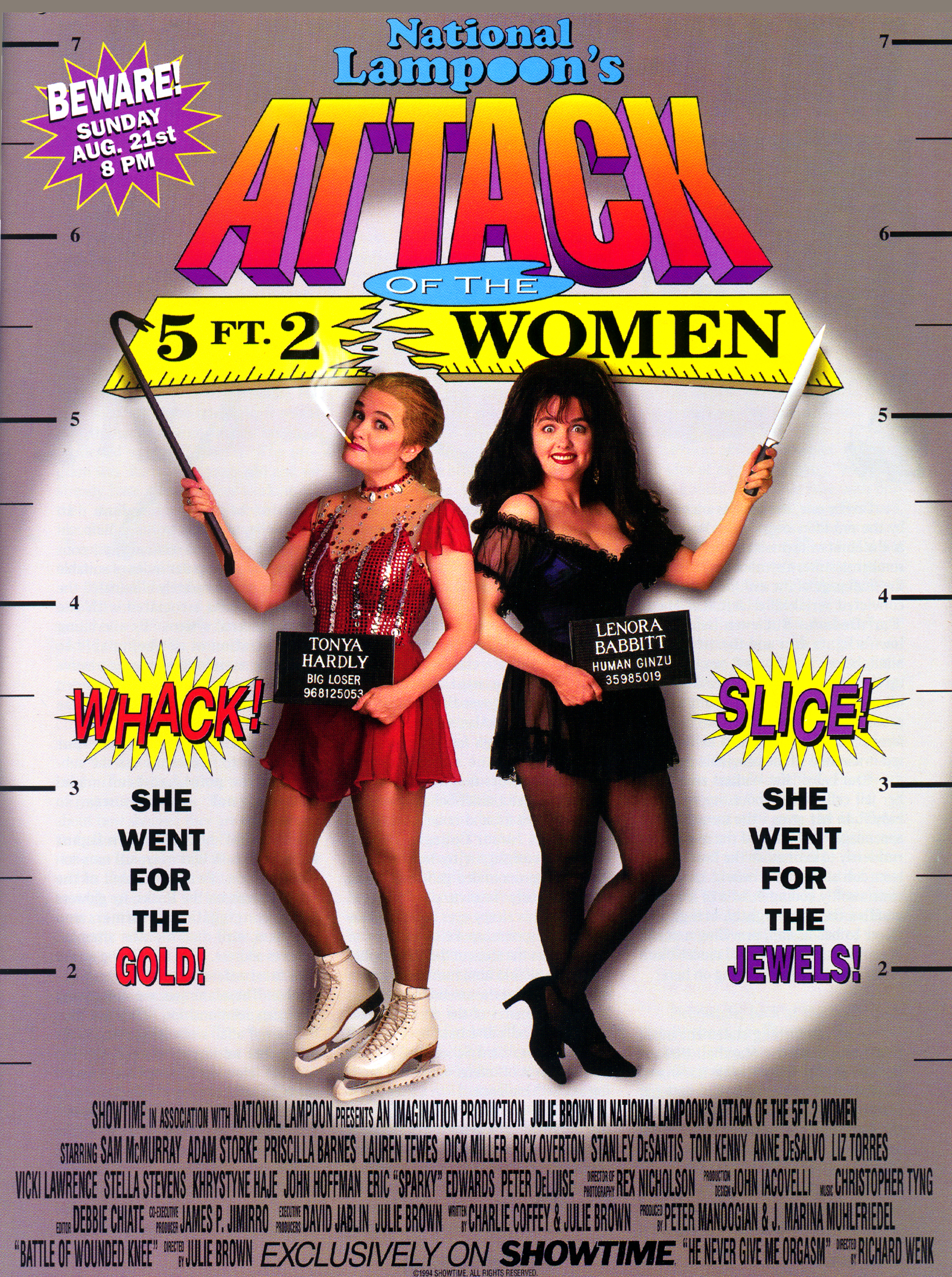 Julie Brown in Attack of the 5 Ft. 2 Women (1994)
