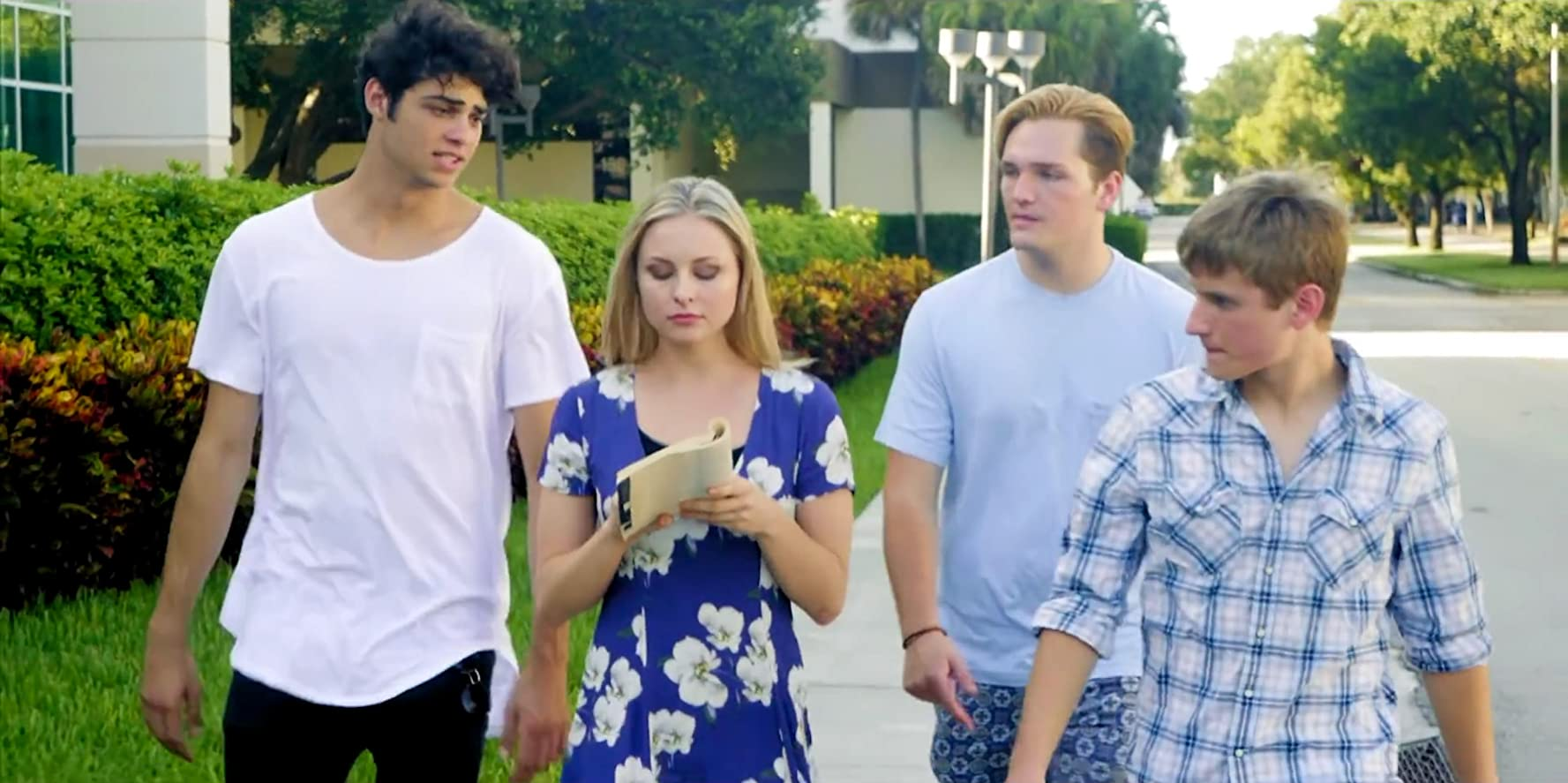 Christian Hutcherson, Nathan Gamble, Noah Centineo, and Shelby Wulfert in Swiped (2018)