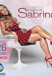 Programa da Sabrina Poster