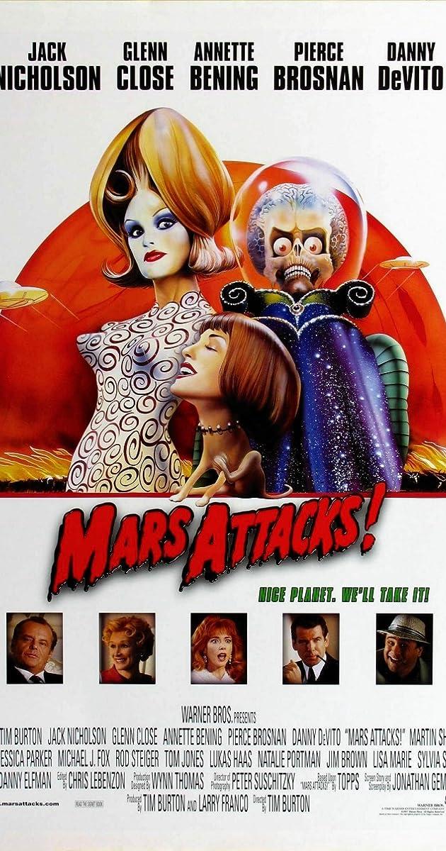 Free Watch Movie Mars Attacks! (1996)