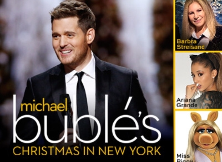 Nbc Christmas Specials 2019.Michael Buble 2019 Nyc Christmas Christmas Decorating 2019