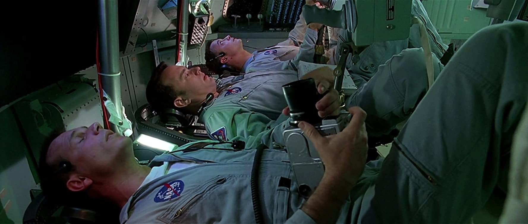 Tom Hanks Bill Paxton and Gary Sinise in Apollo 13 1995