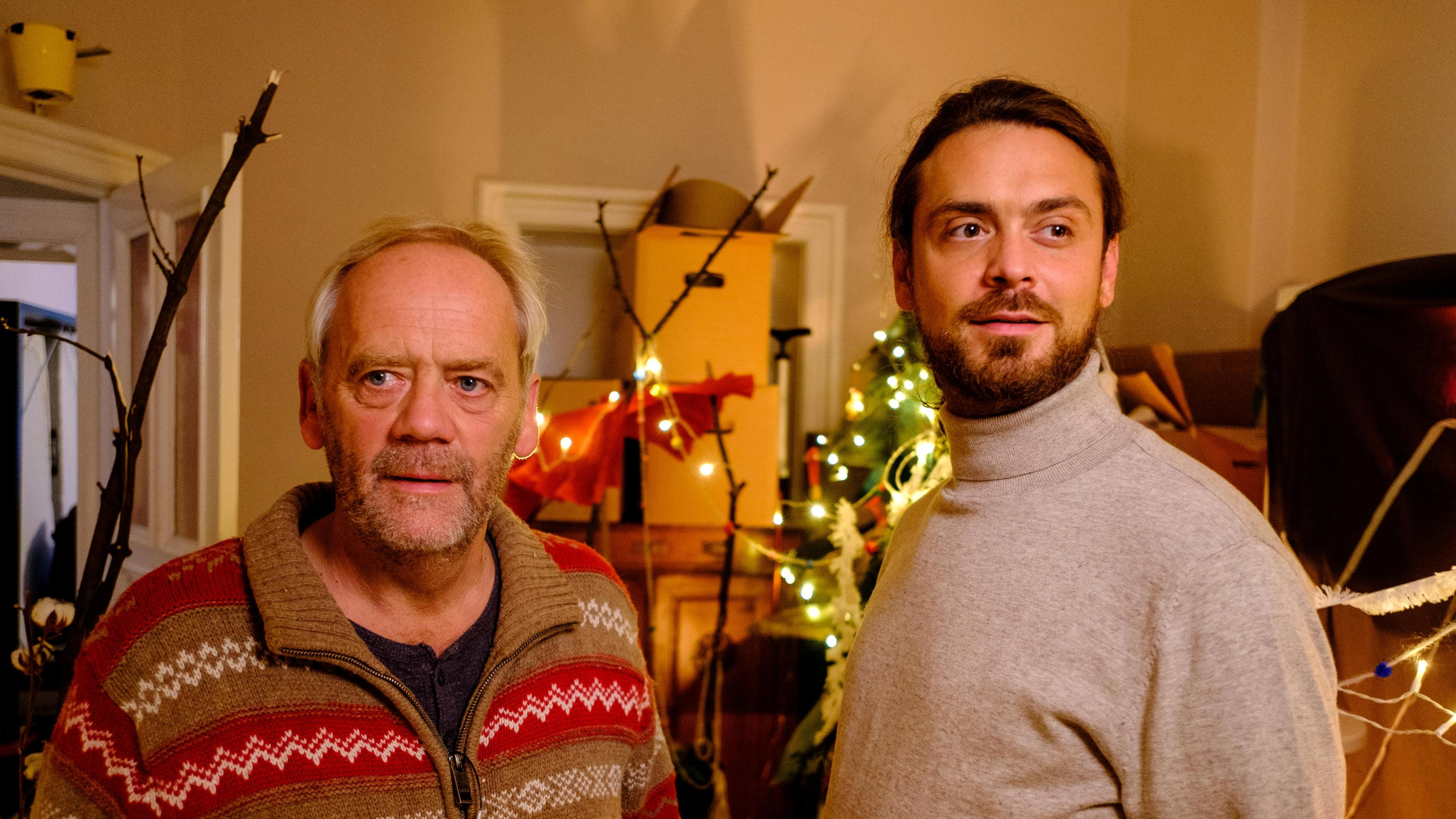 Hans-Heinrich Hardt and Sebastian Fräsdorf in Liebe. Jetzt! (2020)