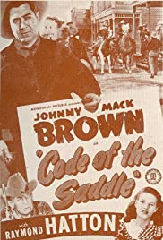 Code of the Saddle Poster
