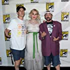 Kevin Smith, Jason Mewes, and Harley Quinn Smith at an event for Jay and Silent Bob Reboot (2019)