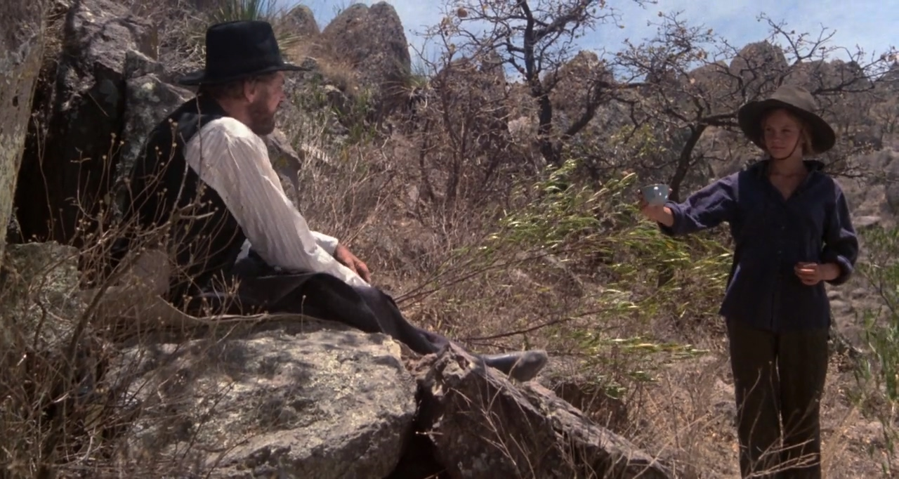 Burt Lancaster and Diane Lane in Cattle Annie and Little Britches (1980)
