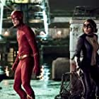 Jessica Parker Kennedy and Grant Gustin in The Flash (2014)