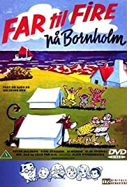 Far til fire på Bornholm Poster