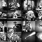 Billy Curtis, Frank Delfino, Ruth Delfino, Sadie Delfino, Harry Monty, and Angelo Rossitto in The Adventures of Super Pup (1958)