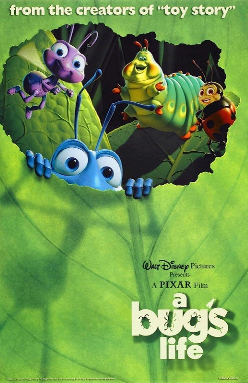 A Bug's Life 1998 Hindi Dual Audio 350MB BluRay ESub