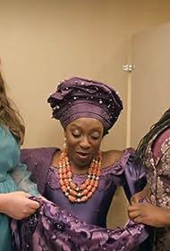 Ego Nwodim, Aidy Bryant, and Lolly Adefope in Wedding (2020)