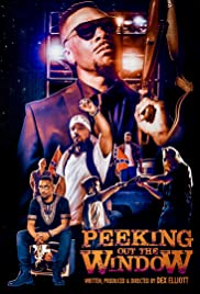 Peeking Out the Window Poster
