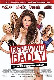 Elisabeth Shue, Mary-Louise Parker, Heather Graham, Selena Gomez, and Nat Wolff in Behaving Badly (2014)