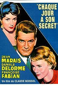 Danièle Delorme, Françoise Fabian, and Jean Marais in Chaque jour a son secret (1958)