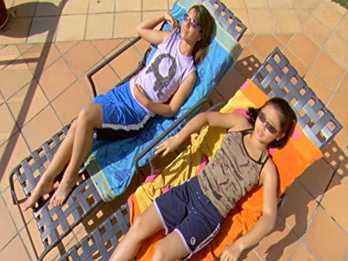 Hannah Wang and Caitlin Stasey in The Sleepover Club (2003)