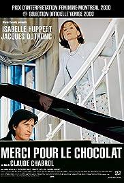 Merci pour le Chocolat(2000) Poster - Movie Forum, Cast, Reviews