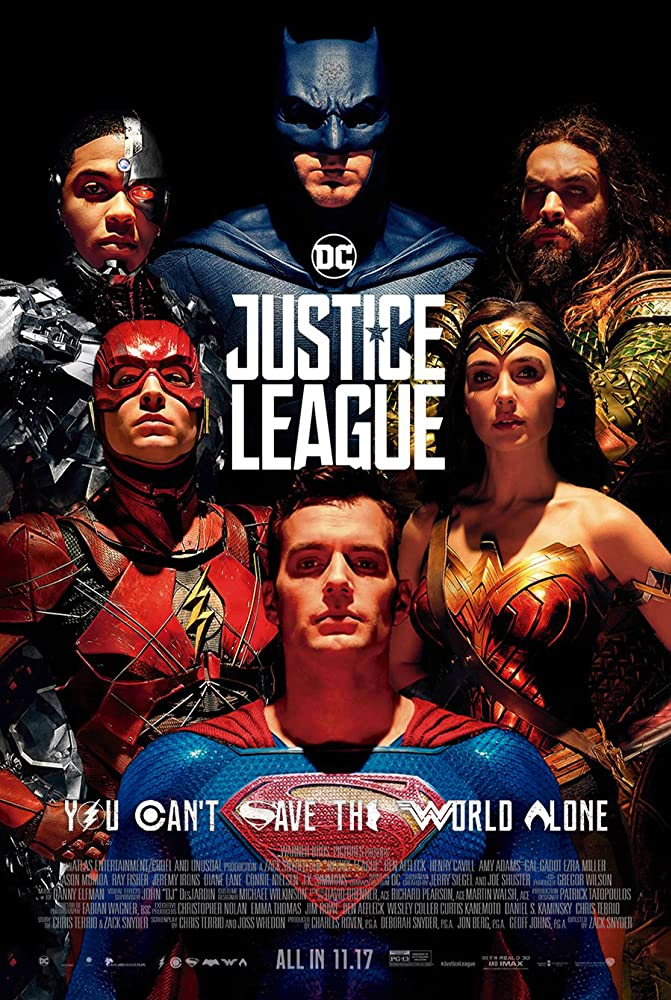 Justice League (2017) Hindi Dubbed
