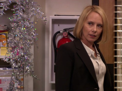 amy ryan in the office 2005 classy christmas - The Office Classy Christmas