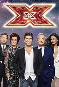 Dermot O'Leary, Sharon Osbourne, Nicole Scherzinger, Simon Cowell, and Louis Walsh in The X Factor (2004)