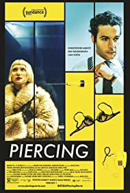 Mia Wasikowska and Christopher Abbott in Piercing (2018)