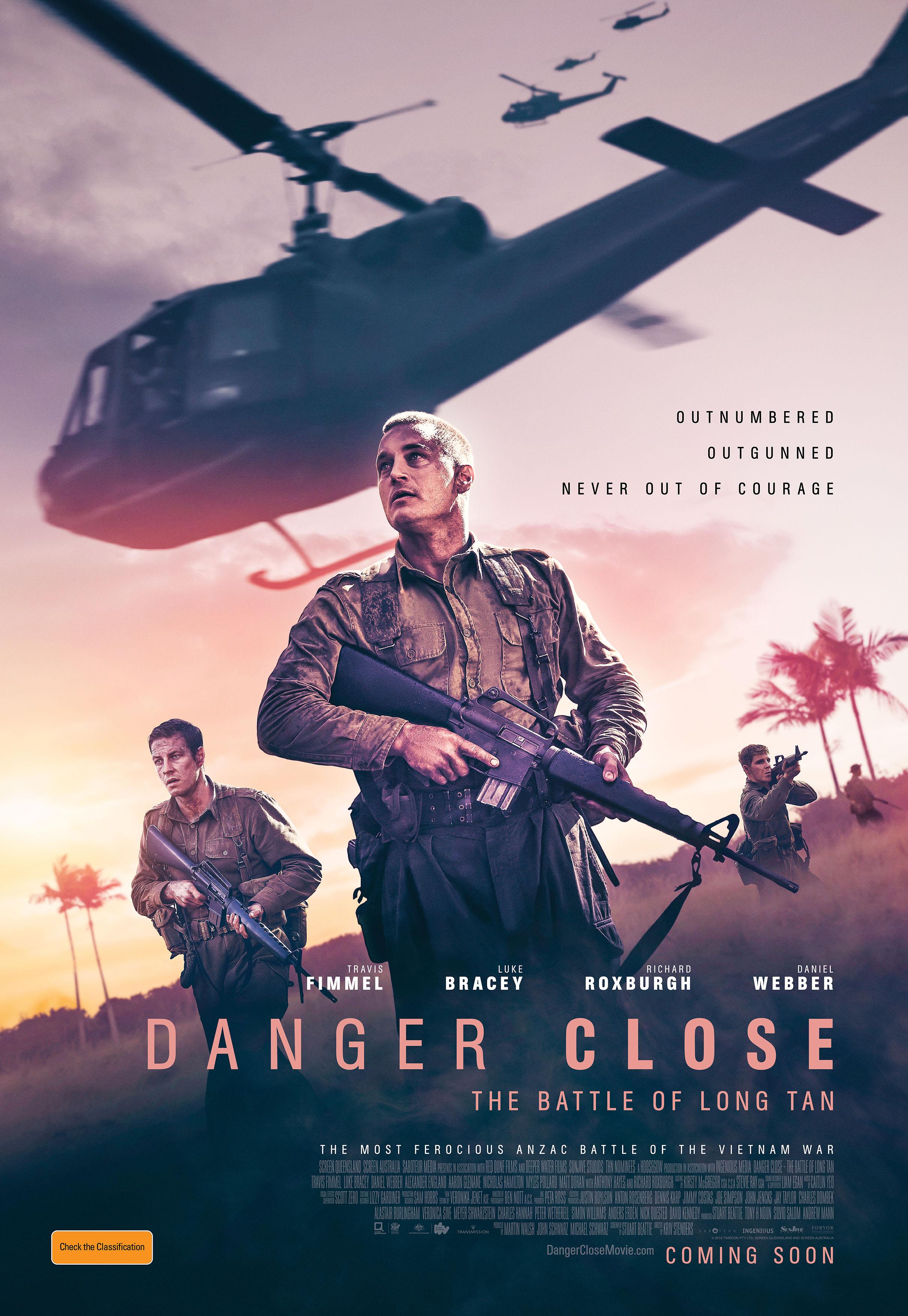 Danger Close: The Battle of Long Tan (2019) - IMDb