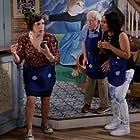 Mayim Bialik, Leslie Jordan, and Kyla Pratt in Call Me Kat (2021)