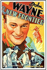 John Wayne, Chuck Baldra, Al Bridge, and Warner Richmond in The New Frontier (1935)