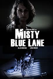Misty Blue Lane Poster