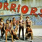 James Remar, Michael Beck, David Harris, Tom McKitterick, Terry Michos, Marcelino Sánchez, Brian Tyler, Thomas G. Waites, and Dorsey Wright in The Warriors (1979)