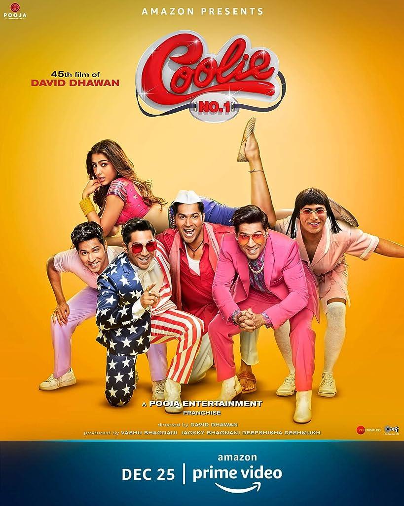 Coolie No 1 (2020) Hindi AMZN WEB-DL x264 AAC ESUB