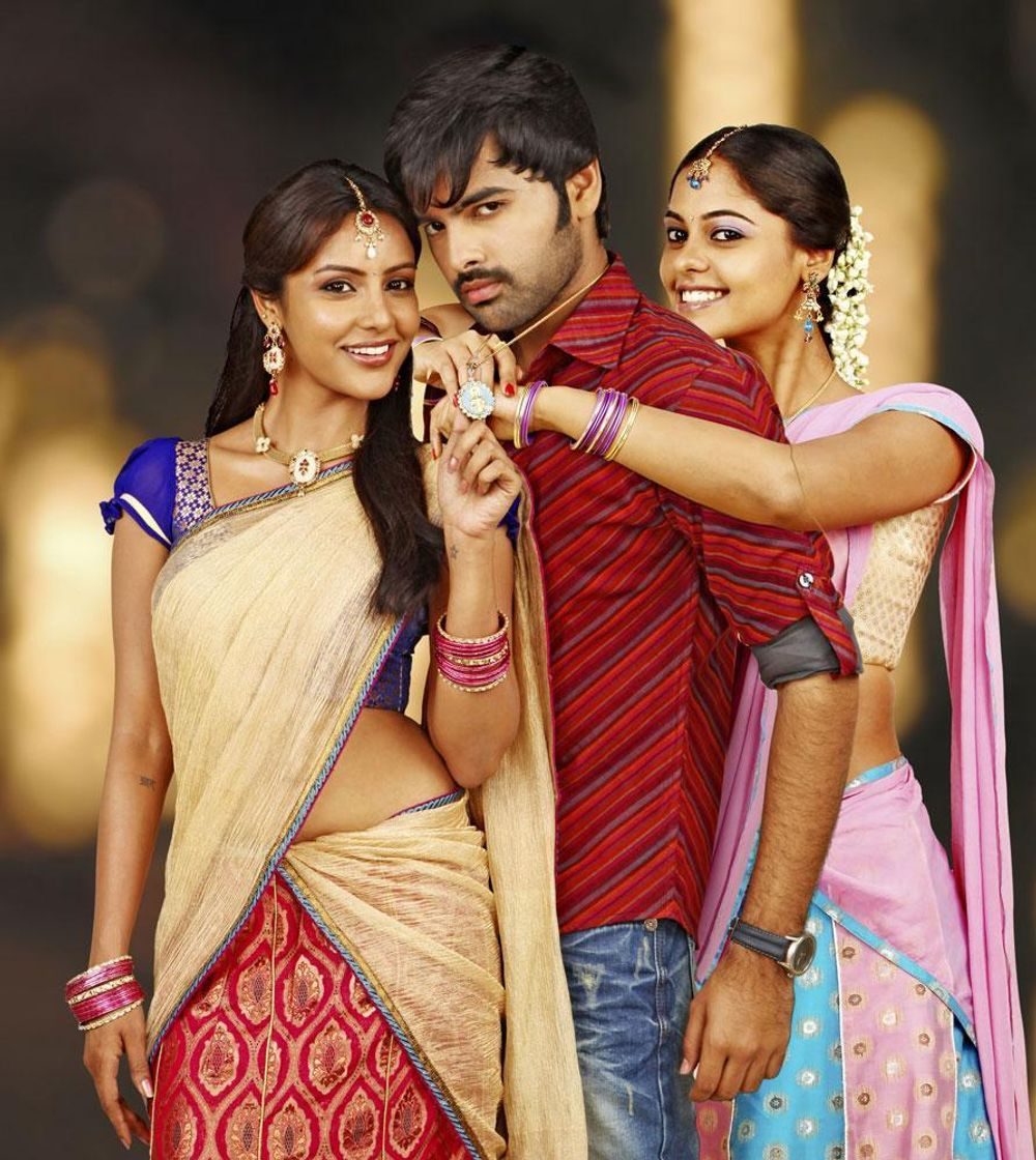 Ram Pothineni, Priya Anand, and Bindhu Madhavi in Rama Rama Krishna Krishna (2010)