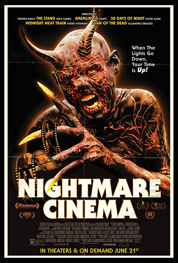 Nightmare Cinema (2019) English 720p HDRip 800MB Download