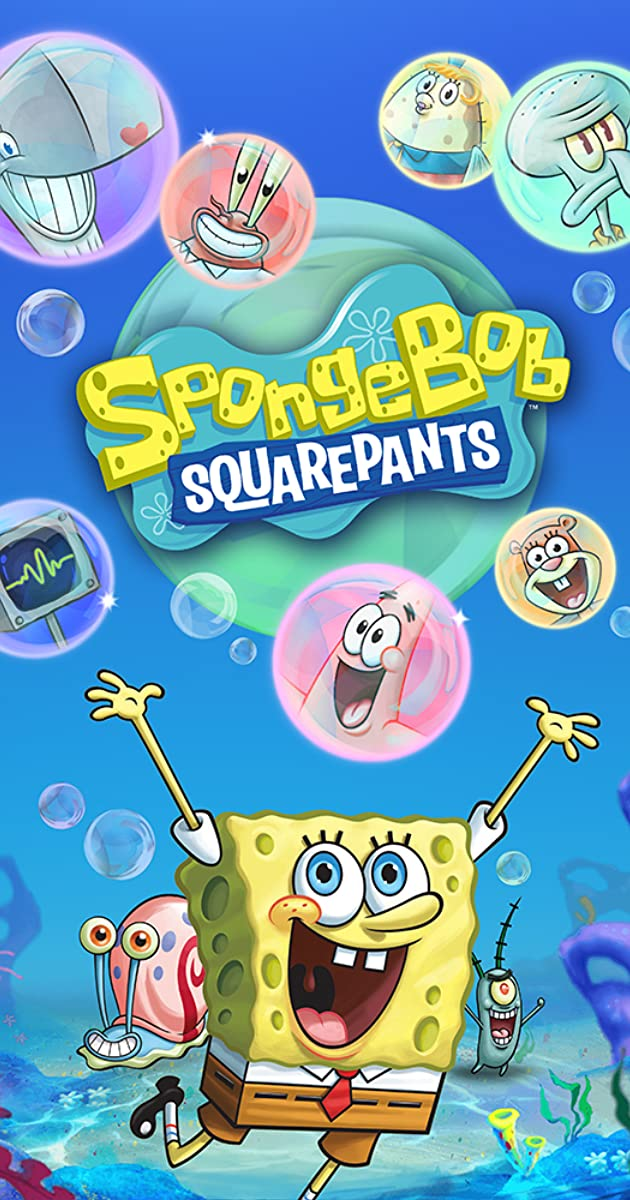 SpongeBob e Sandy cartoon porno