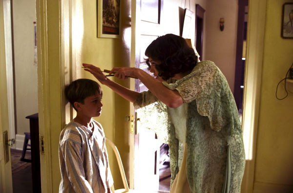 Angelina Jolie and Devon Conti in Changeling (2008)