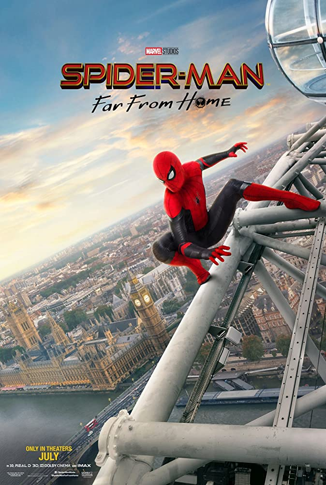 Spider Man: Far from Home (2019) Hindi Dubbed