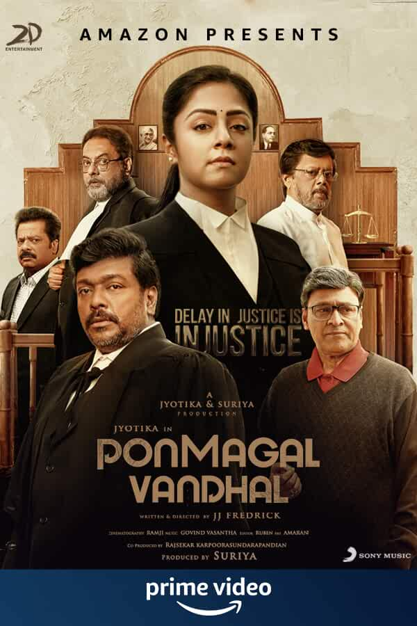 Ponmagal Vandhal (2020) Tamil Full Movie Watch Online Download