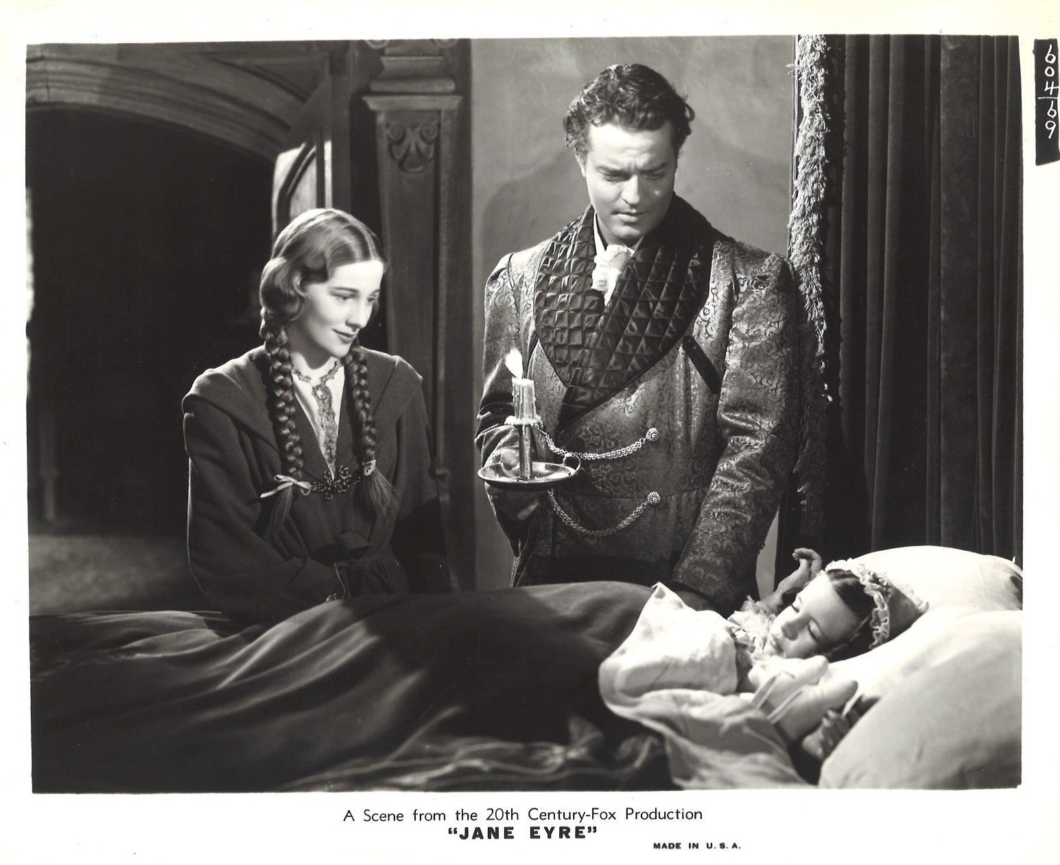 Joan Fontaine, Orson Welles, and Margaret O'Brien in Jane Eyre (1943)