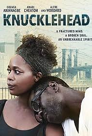 Alfre Woodard and Gbenga Akinnagbe in Knucklehead (2015)