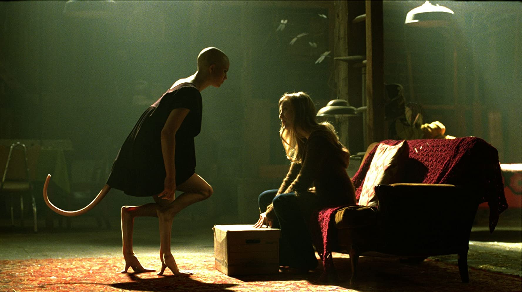 Sarah Polley and Delphine Chanéac in Splice (2009)