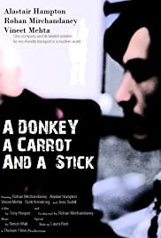 A Donkey a Carrot and a Stick Poster