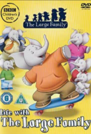 The Large Family Poster