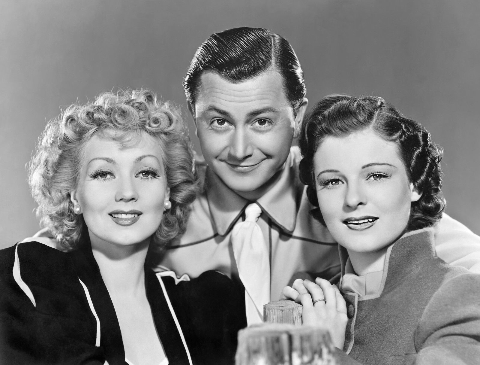 Robert Young, Ruth Hussey, and Ann Sothern in Maisie (1939)