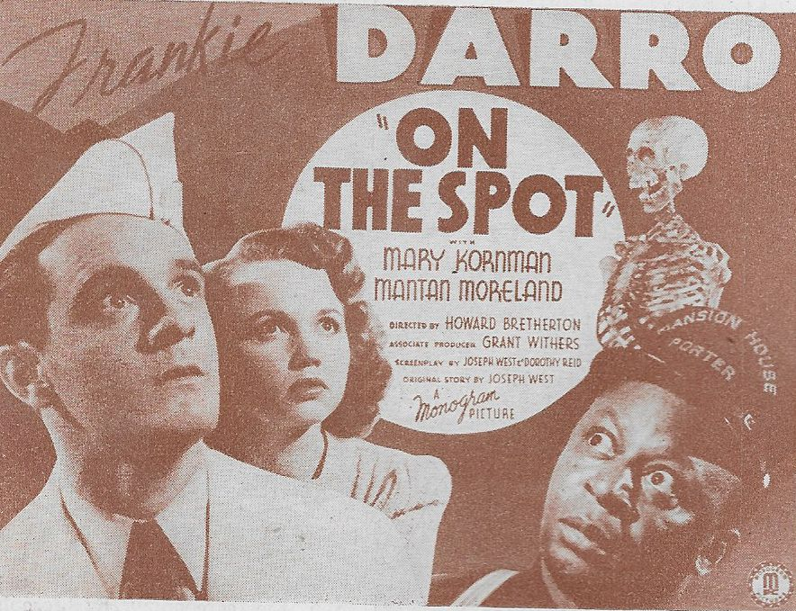 Frankie Darro, Mary Kornman, and Mantan Moreland in On the Spot (1940)