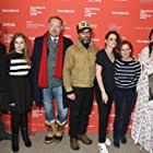James Le Gros, Jared Harris, Kelly Reichardt, Kristen Stewart, James Jordan, Sara Rodier, and Lily Gladstone at an event for Certain Women (2016)