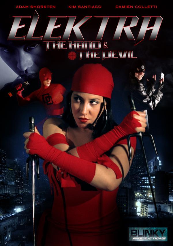 Damien Colletti, Kim Santiago, and Adam Shorsten in Elektra: The Hand & the Devil (2009)