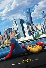 Robert Downey Jr., Michael Keaton, Gwyneth Paltrow, Marisa Tomei, Tony Revolori, Donald Glover, Zendaya, Tom Holland, Laura Harrier, and Jacob Batalon in Spider-Man: Homecoming (2017)