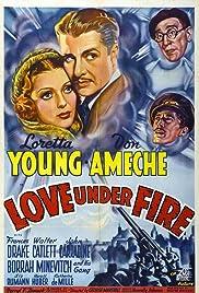 Love Under Fire Poster