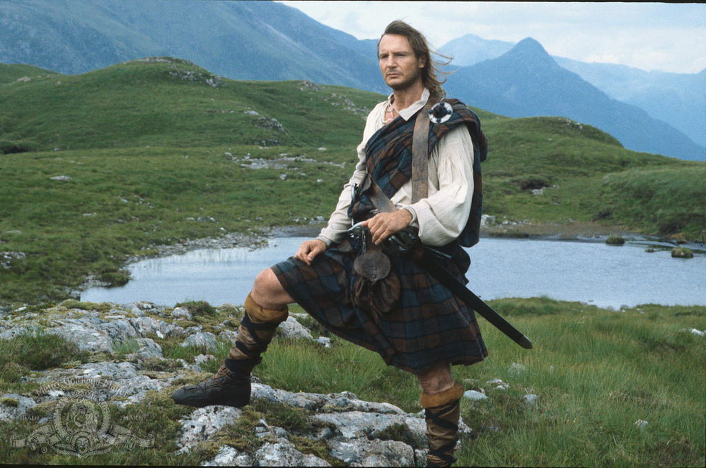 Liam Neeson in Rob Roy (1995)