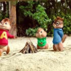 Justin Long, Jesse McCartney, and Matthew Gray Gubler in Alvin and the Chipmunks: Chipwrecked (2011)