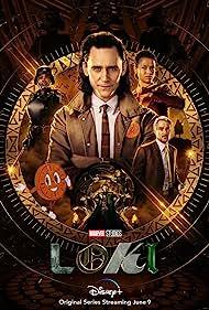 Owen Wilson, Tom Hiddleston, Gugu Mbatha-Raw, and Wunmi Mosaku in Loki (2021)